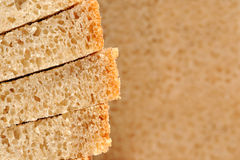 Sliced Brown Bread Royalty Free Stock Photo