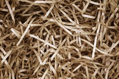 Sliced brown paper packaging material as background for design royalty free stock images
