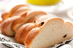 Sliced bun Stock Images
