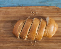 Sliced bun Royalty Free Stock Images