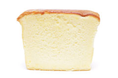 Sliced butter cake Stock Photography