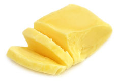Sliced butter Stock Image