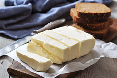 Sliced butter Stock Images