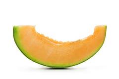 Sliced cantaloupe Stock Photo