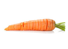 Sliced carrot Royalty Free Stock Image