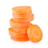 Sliced carrot Stock Image
