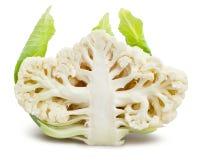 Sliced cauliflower Royalty Free Stock Images