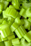 Sliced celery Royalty Free Stock Image