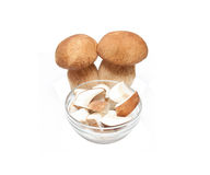 Sliced cep Royalty Free Stock Image