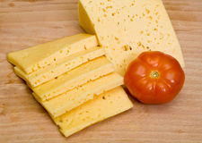 Free Sliced Cheese Royalty Free Stock Photos - 13215598