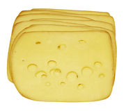 Sliced cheese Royalty Free Stock Photos