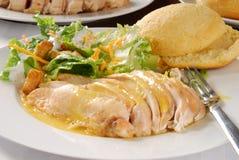 Sliced chicken breast Stock Photo