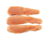 Sliced chicken breast Stock Image
