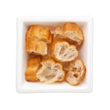Sliced Chinese fried dough Royalty Free Stock Photos