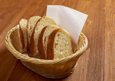 Sliced ciabatta bread Royalty Free Stock Images