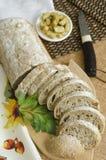Sliced ciabatta bread Royalty Free Stock Photo