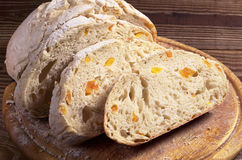 Sliced ciabatta bread Stock Photo