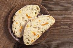 Sliced ciabatta bread Royalty Free Stock Photos