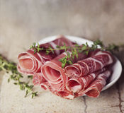 Sliced Cold Cuts Stock Image