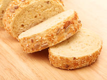Sliced Corn Bread Royalty Free Stock Photography