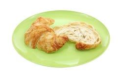 Sliced Croissant Stock Image
