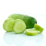 Sliced cucumber Royalty Free Stock Photos