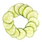 Sliced cucumber Royalty Free Stock Photos