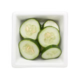 Sliced cucumber Royalty Free Stock Photo