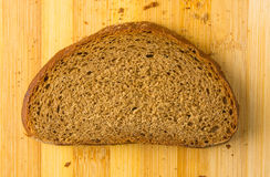 Sliced dark bread Royalty Free Stock Images