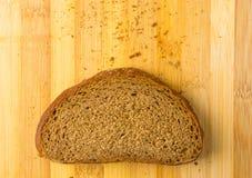 Sliced dark bread Stock Image