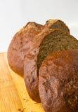 Sliced dark bread Royalty Free Stock Photo