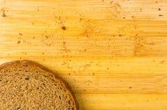 Sliced dark bread Royalty Free Stock Images