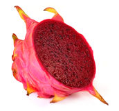 Sliced dragon fruit Royalty Free Stock Images