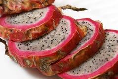 Sliced Dragonfruit Royalty Free Stock Images