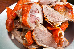 Sliced Duck Meat Royalty Free Stock Photo