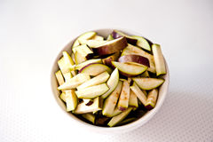 Sliced eggplant Royalty Free Stock Image