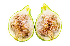 Sliced fig Royalty Free Stock Photos