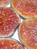 Sliced ​​figs Stock Photography