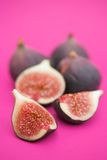 Sliced figs Royalty Free Stock Image