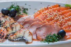 Sliced fish Royalty Free Stock Photo