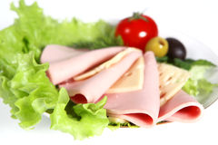 Sliced food Royalty Free Stock Photo