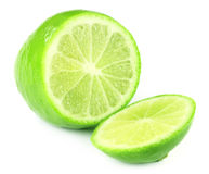 Sliced fresh lemon Stock Photography