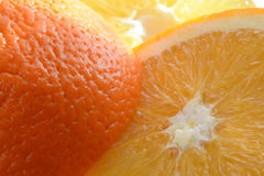 Sliced fresh orange Royalty Free Stock Photography