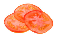 Sliced fresh tomato Stock Photo