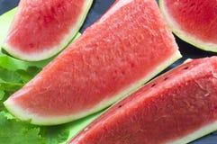 Sliced fresh watermelon Royalty Free Stock Photo