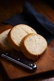 Sliced freshly baked baguette Royalty Free Stock Photo