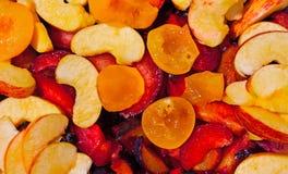 Sliced Fruit Royalty Free Stock Photos