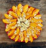 Sliced fruits arrangement Royalty Free Stock Image