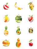 Sliced Fruits Stock Photos