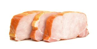 Sliced gammon steaks Stock Image